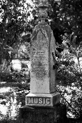 Music Marker (Joe Josephs: 3,122,834 views - thank you) Tags: california californiacoast cambria joejosephs photojournalism ©joejosephs2017 cemetary cemetaries death dead sad sorrow bla blackandwhite photojournalsim