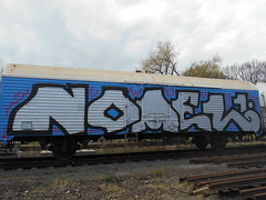 nomel (streetluvaz) Tags: nomel chrome silver freight fr8 train wholecar 2017