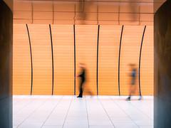 Marienplatz (blichb) Tags: 2017ubahn architektur bayern deutschland sonya7rii ubahnhof zeissloxia2821 blichb münchen 2017 ubahn marienplatz bewegungsunschärfe unscharf bahnhof orange langzeitbelichtung