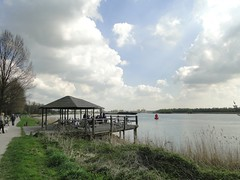 Pavillion on the Oude Maas (Joop van Meer) Tags: groterivierenpad 2017 oudemaas barendrecht