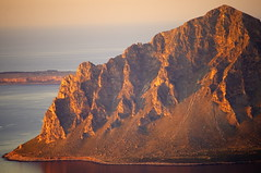 The Rock (Tomas Pfeifer) Tags: sicily erice rock landscape sea light italy