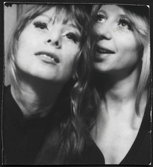 Ingrid und M. (StrategieDerOrdnung) Tags: 1970er 1970s 70s париж paris années1970 70er seventies diesiebziger siebzigerjahre rueduthéâtre photobooth fotoautomat photomaton