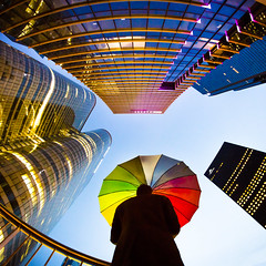La Défense (Zeeyolq Photography) Tags: architecture buildings defense ladéfense umbrella courbevoie france
