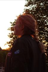 Goldenhour6 (n0tmichelle) Tags: photography gold goldenhour sunset europe france portrait face people paris sky yellow color contrast saturation buildings architecture travel scenery landscape sun light
