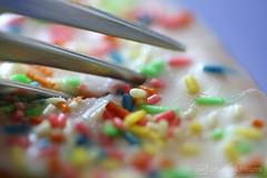 colorful calories / glaze / macro mondays (photos4dreams) Tags: 08042017p4d glaze glasur macromonday makro kuchen cake sweet fork gabel photos4dreams p4d photos4dreamz susannahvvergau macromondays
