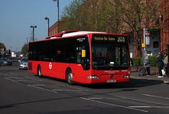 Route 203, London United, MCL30304, BD11LWR (Jack Marian) Tags: route203 londonunited mcl4 mcl30304 bd11lwr mercedesbenzo530citaro mercedesbenz o530 citaro staines hounslowbusstation hounslowtreatycentre buses bus london