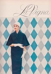 La Vigna 1956 (barbiescanner) Tags: vintage retro fashion vintagefashion 50s 50fashion vintagevogue vogue vintageads lavigna annegunning