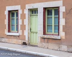 21 Rue Général Leclerc, Donzy, the Nièvre, January 2017 (serial_snapper) Tags: building républiquefrançaise nièvredépartement bourgognefranchecomtérégion donzy bourgognefranchecomté france fr