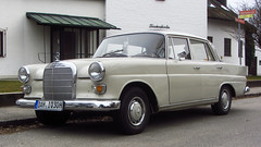 Mercedes W110 (vwcorrado89) Tags: mercedes w110 w 110 benz mercedesbenz heckflosse 200d