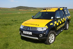 HM Coastguard - Needles Coastguard Rescue Team Mitsubishi L200 (HF62 GFJ) (Darren // UK Emergency Vehicles) Tags: isleofwight