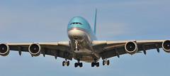 KE0907 ICN-LHR (A380spotter) Tags: approach landing arrival finals shortfinals belly airbus a380 800 msn0096 hl7619 대한항공 koreanair kal ke ke0907 icnlhr runway27r 27r london heathrow egll lhr