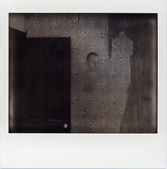 Ghost (///Brian Henry) Tags: polaroid instant film roidweek abandoned decay ghost spectra impossible project self portrait