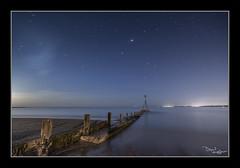 Stars over Sky (vaughaag) Tags: exmouth seaside sea seascape sky groyne sony a7 minolta 1735 classic glass long exposure longexposure