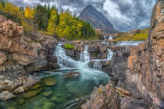 A Storm Gathering (Phil's Pixels) Tags: earthday april221970 storm stormy climatechange globalwarming nature glacier grinnellpoint manyglacier swiftcurrentfalls waterfalls glacialwaters glacialecosystems glaciernationalpark montana bravo