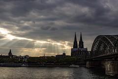 Light leak! (Sekimpic) Tags: köln cologne clouds cloud lightbeams sunbeams moody