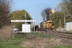 Old School on the TCWR (wc_sd45_7500) Tags: tcwr tcw rrvw gp10 emd twin cities western railroad gp382 gp392 saint louis park paul turn trains train