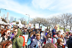 Science March (kirstiecat) Tags: sciencemarch chicago people strangers beautifulstrangers protestors signs protestsigns environmentalprotectionagency epa usda thisiswhatdemocracylookslike climatechange globalwarming liberal politics protest crowd illinois usa america environment science scientists resist resis trumpmustgo