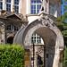 München - Historischer Hauseingang in der Altstadt