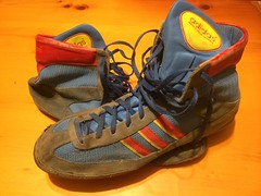 Adidas West German Combat Speed 88's - Royal Blue - a photo on ...
