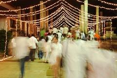2014 april  poya and new year day in srilanka .... anuradapura (Himash De Silva) Tags: new white walking eos lights long day year cannon april srilanka 6d 2014 poya exposoure anuradapura