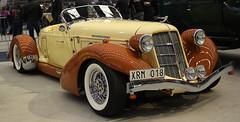 1935-36 Auburn Speedster replica (crusaderstgeorge) Tags: auburn replica classiccars speedster veterancar 193536 göranssonarena arenawheels 193536auburnspeedsterreplica
