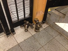 """14th Street Eighth Avenue (New York City Subway) • <a style=""""font-size:0.8em;"""" href=""""http://www.flickr.com/photos/66124349@N03/13966108453/"""" target=""""_blank"""">View on Flickr</a>"""