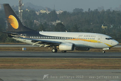 VT-JNS B737-700 Jet Airways (JaffaPix +4 million views-thanks...) Tags: airplane flying aircraft aviation flight aeroplane airline boeing jai airliner 737 b737 737700 blr bangaloreairport jetairways b737700 vtjns vobl jaffapix davejefferys