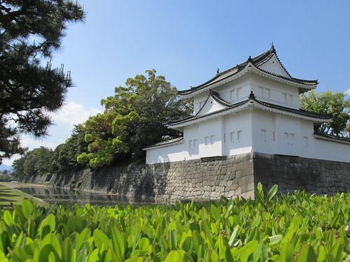 Entrée du château de Kyoto, Japon