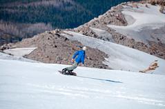 "Aaron ""shreddin' the pow"" or something like that (LucienTj) Tags: mountain snow hike snowboard backcountry mounthood shreddin"