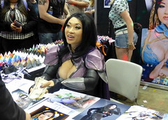 Yaya Han 02 (GabboT) Tags: chicago book costume comic play expo cosplay entertainment convention legends heroes yaya comiccon cos con han league yayahan 2014 fiora nightraven c2e2