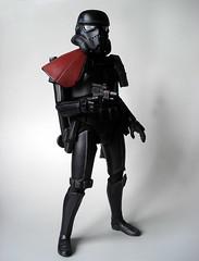 Shadowtrooper Commander (Getoninja) Tags: scale star inch figure stormtrooper 16 wars 12 custom commander shadowtrooper