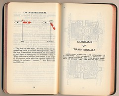 Western Pacific Operating Rules 1924 (Mark Vogel) Tags: railroad train eisenbahn railway rules wp signal signaux chemindefer westernpacific signale rulebook operatingrules signalchart signaldiagram signalaspects signalbilder