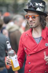 Liquor mixer @ King's Day Amsterdam 2014 (Merlijn Hoek) Tags: amsterdam polaroid dof picture depthoffield merlijn willemalexander kingsday merlijnhoek nikond800 kingwillemalexander