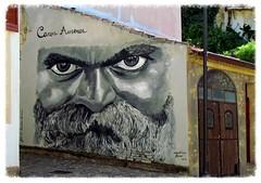 Goodbye Stranger.. (anton) Tags: sardegna streetart occhi uomo murales ritratto barba supertramp baffi wonderfulworld canzone goodbyestranger photoroom anton bessude whiteiswhite onlymyfavorite