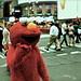 Homeless Elmo.