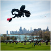 I, for one, welcome our new dragon kite overlords. (Andy Marfia) Tags: kite chicago festival skyline iso200 dragon lakemichigan uptown f8 lakefront crickethill 11600sec d7100 1685mm