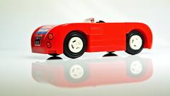 Porsche Spyder (hajdekr) Tags: old car toy lego spyder retro porsche vehicle veteran cabriolet
