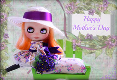 Blythe A Day ~ May 2014 ~ DAY 11 MOTHER'S DAY
