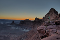 Photographing Canyon Lands Sunset (mbryan777) Tags: sunset red utah sandstone photographer desert canyon canyonlandsnationalpark lands nikond800 mbryan777 michaelbryanphotography wwwmichaelbryanphotocom d8g06857tm28x12