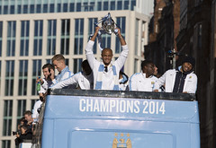 Manchester City Parade 2014 (Greater Manchester Police) Tags: city manchester greater fans league mcfc vincentkompany fansmanchester paradefootball manchestercityvictoryparade policepremier championspolice operationfootball manchestercityparade