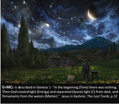 What is allegory? Can you recognize E=MC2  in the Bible? www.rozabal.com (Author-The DNA of God Project) Tags: afghanistan worship cross god muslim islam religion buddhism graves creation mohammed bible astronomy safiya christianity generations hindu prophet himalayas fatima crucifixion excalibur muhammad jesuschrist kingarthur resurrection emc2 mothermary magdalene emptytomb ahmadiyya haplo tombofjesus swordinstone shias kashmirindia losttomb kinanah rozabal suzanneolsson dnaofgod yuzasaph