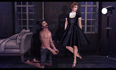 This heavy heart of mine, it never fails to bring me right back (Janice Jupiter) Tags: life fashion loft blog store secret sl second mistress domme dura femdom ingenue trompe handcuff dure hermony loleil collabor88