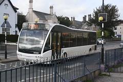 MX08MYS - Beacon Bus (Holsworthy Ltd), Dulverton (lazy south's travels) Tags: uk england west bus floor britain low deck devon single midi versa tavistock 118 decker optare mx08mys