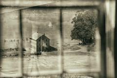 Civil War camp, Angel Island State Park, CA (arbabi) Tags: california usa window america marincounty sanfranciscobay angelisland sausalito bakehouse seanarbabi campreynolds westgarrison