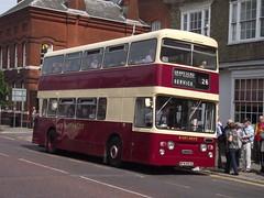 Faversham, 17.5.14 (Tony's Trains and Buses) Tags: daimler fleetline faversham eastkent