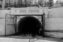 Mina Trotuș (SebyFloyd) Tags: white black mystery gate mine fear hell salt dream entrance mina romania portal nightmare dare salina moldova targu trotus ocna