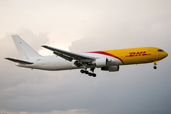 N220CY (amcripps57) Tags: make airport aircraft boeing airlines dhl b767 kmia abxair n220cy