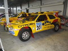 Citroen ZX Rallye raid Paris Dakar 1991 (gueguette80 ... Définitivement non voyant) Tags: old cars sport citroen competition course prototype autos avril conservatoire 2014 aulnay anciennes françaises