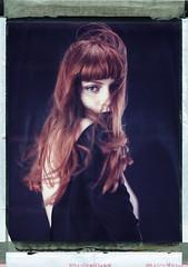 Su (Braca Nadezdic) Tags: portrait color studio polaroid 8x10 expired sinar 809 heliar polaroid809 polaroid8x10
