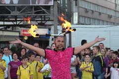 Voila! (MarryGj) Tags: fire entertain voila baskerfest